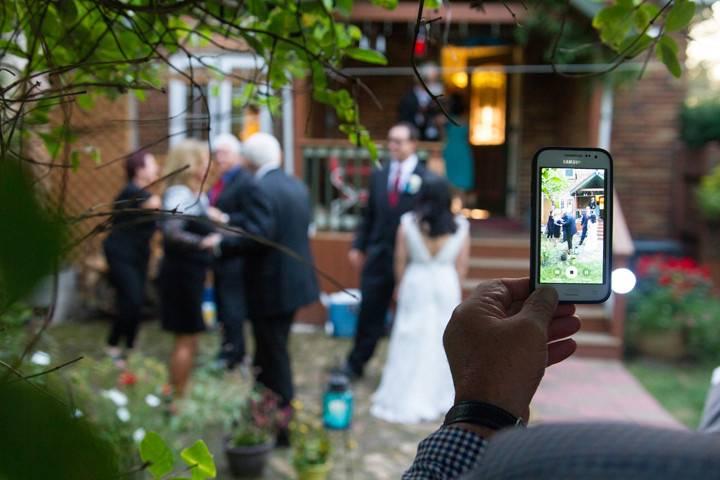 Ongoing wedding