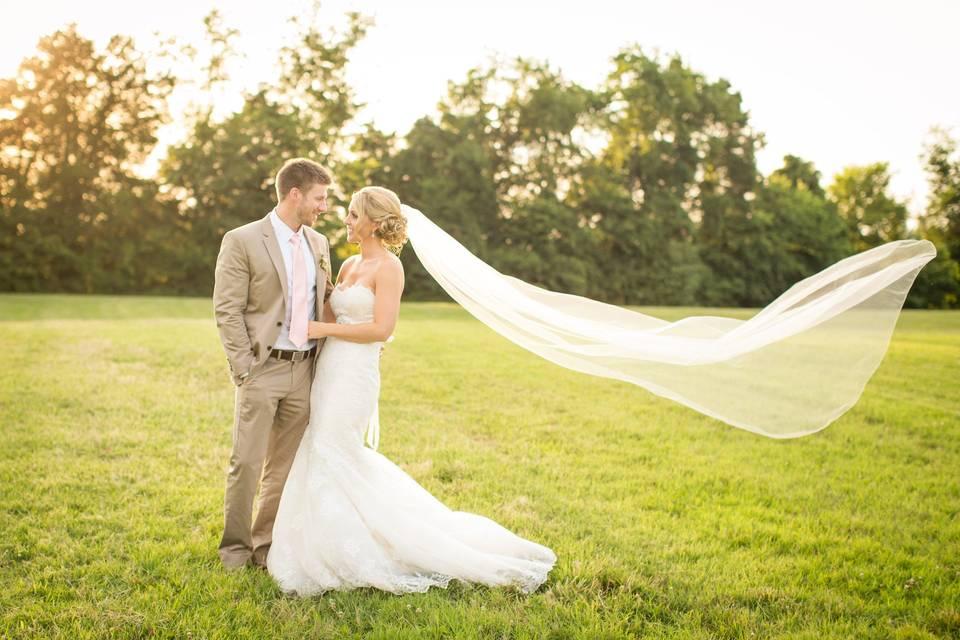 Virginia Barn Wedding at Adams International School