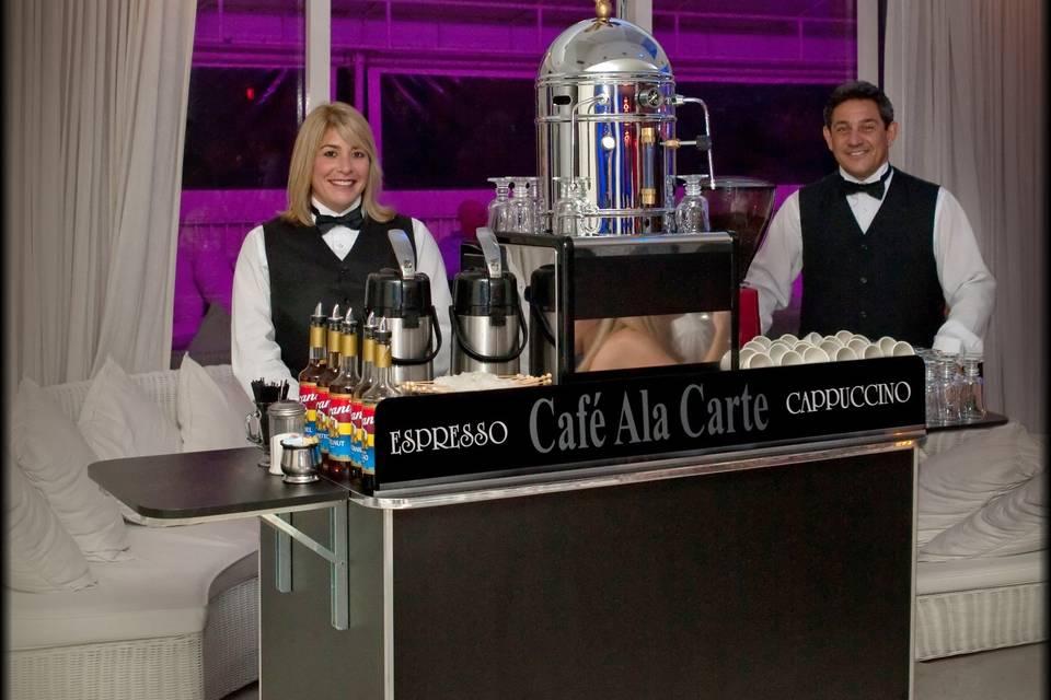Cafe Ala Carte setup