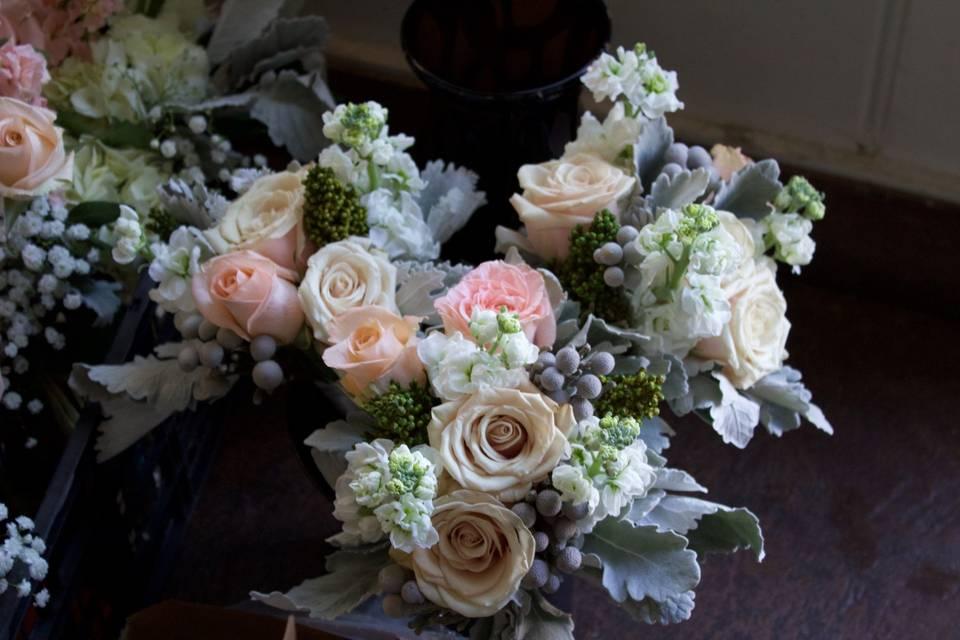 Lots of bouquet