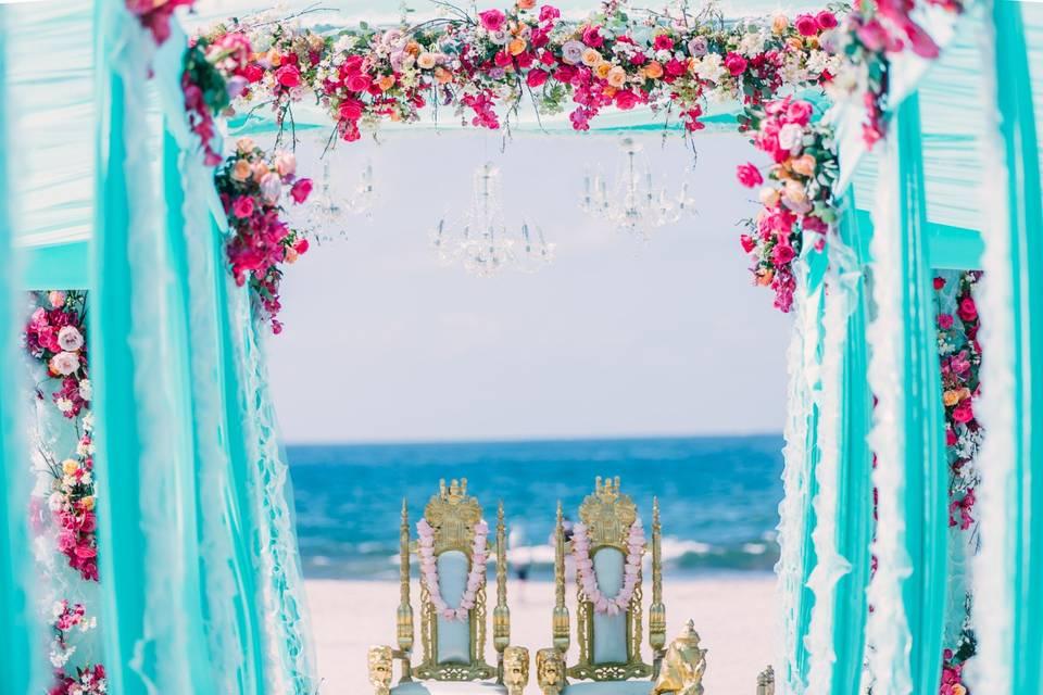 Indian Beach Ceremony