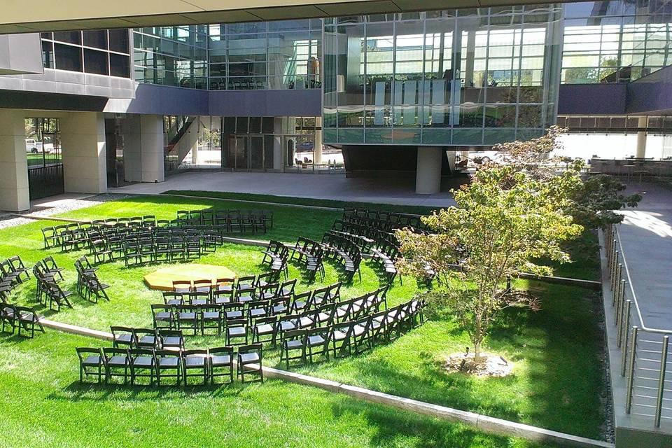 Mammel Courtyard Ceremony