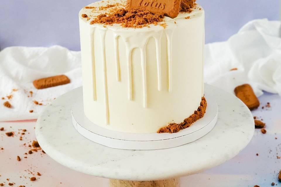 Biscoff Cookie Cake
