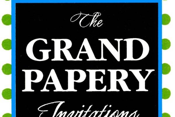 The Grand Papery Invitations