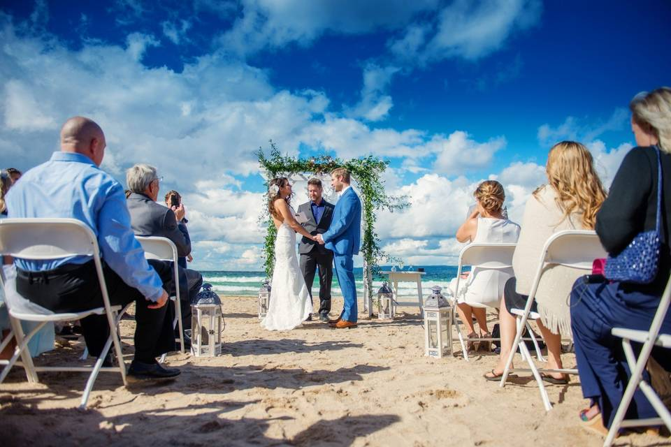 Stunning Beach Wedding