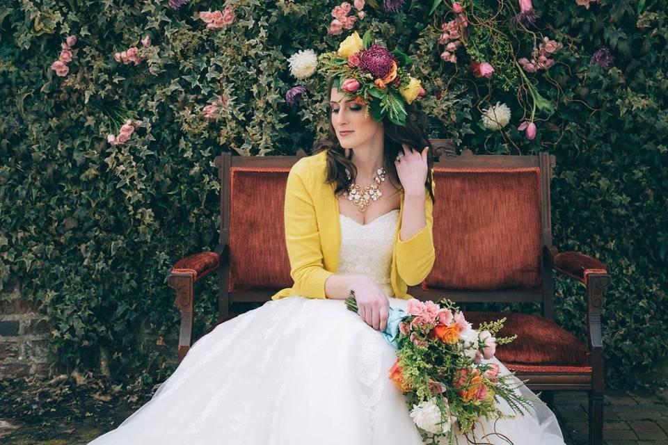 Blushing bride - Gloriosa