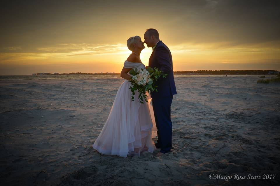 Married at twilight in NC