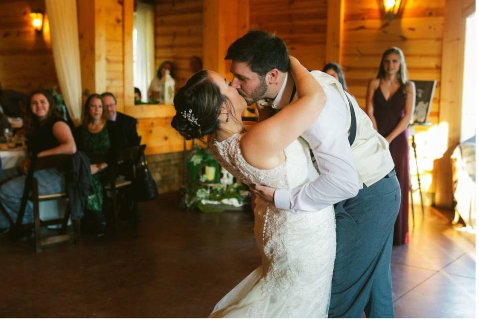 Special moments on the dance floor