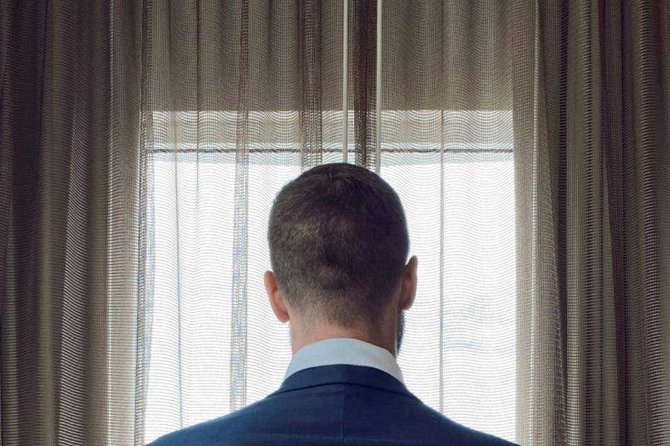 Groom at Verdanza Hotel Suite