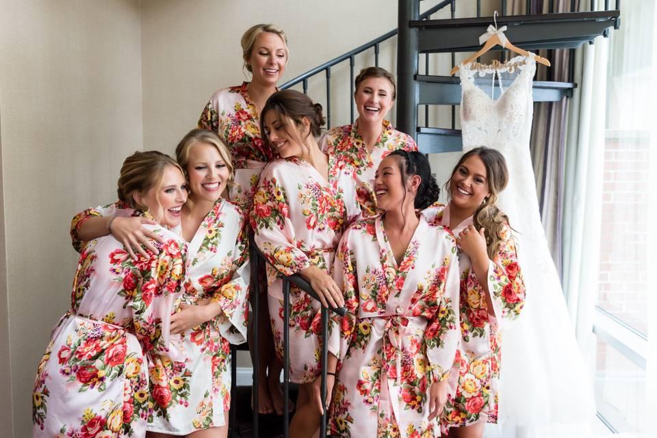 Bridal Suite Prep