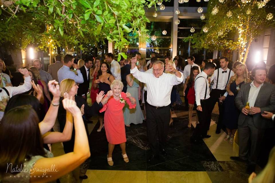 All ages dance floor