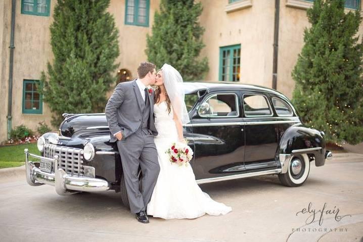 Vintage Wedding Rides