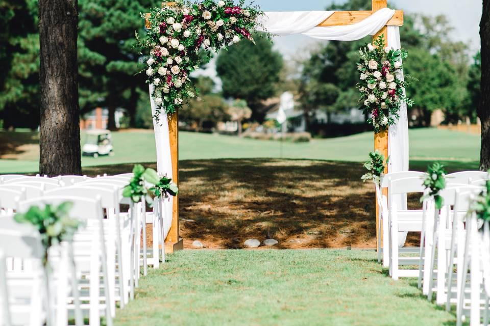 Ceremony - Sarah vanderford photography
