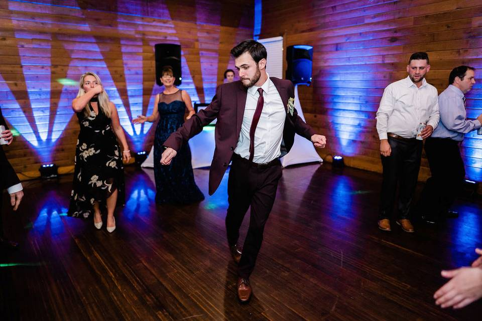 Dance moves on point