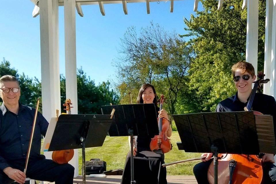 Outdoor ceremony music