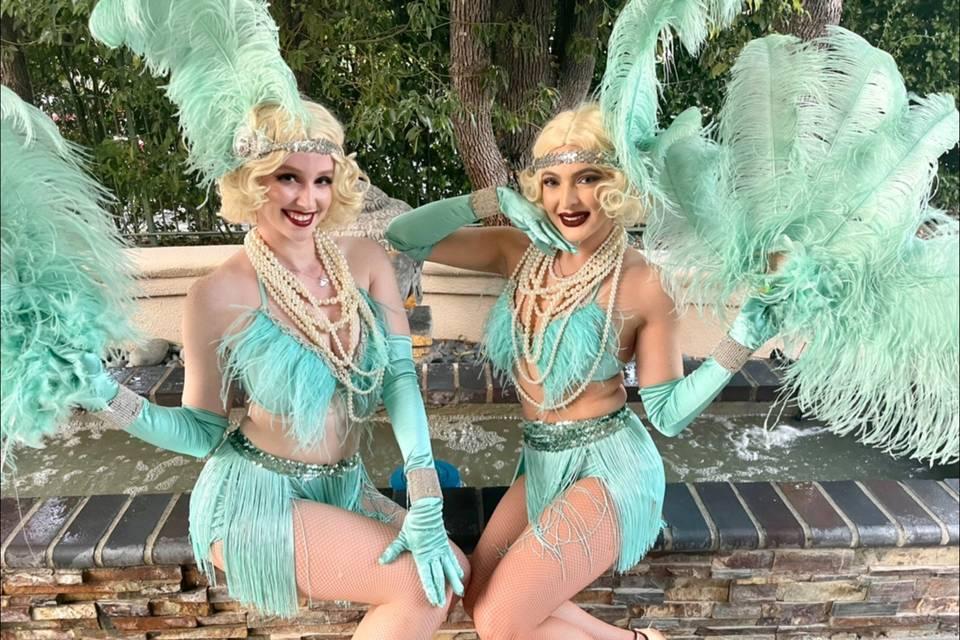 Great Gatsby Flapper Dancers