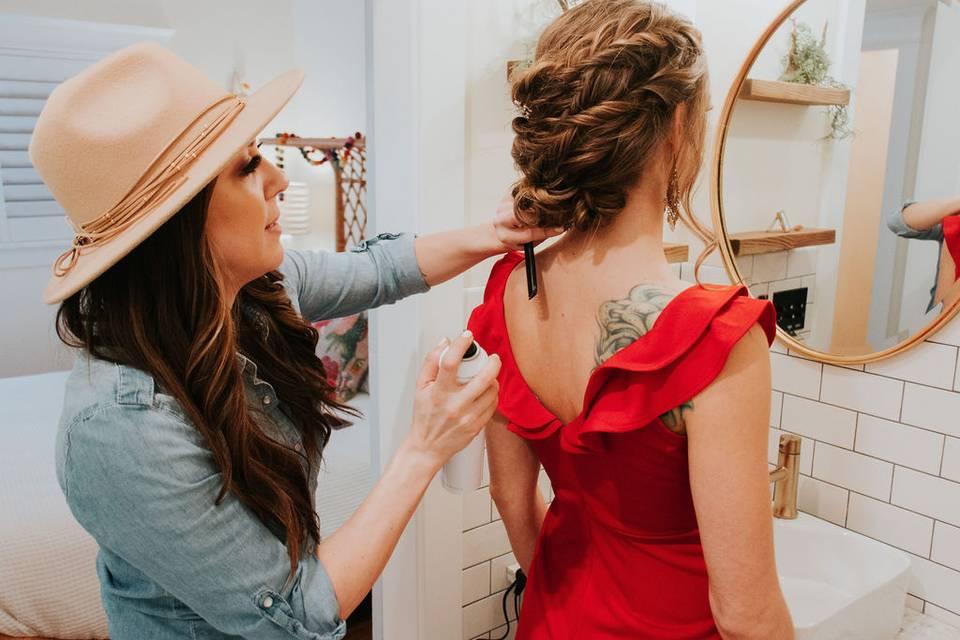 Danea Sutton Hair Artist