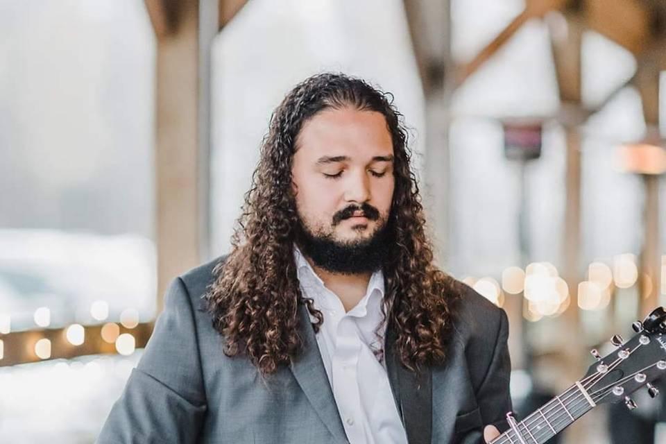 Live wedding guitarist
