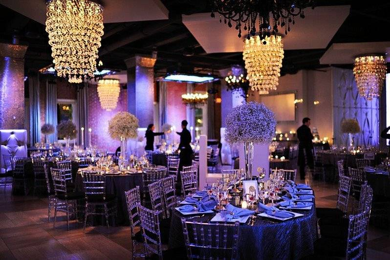 Beautiful reception set-up