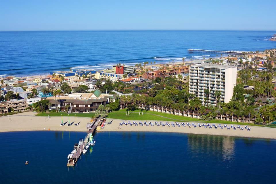 Aerial View facing Ocean