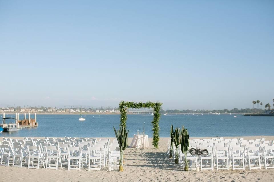 Beach Sand Ceremony
