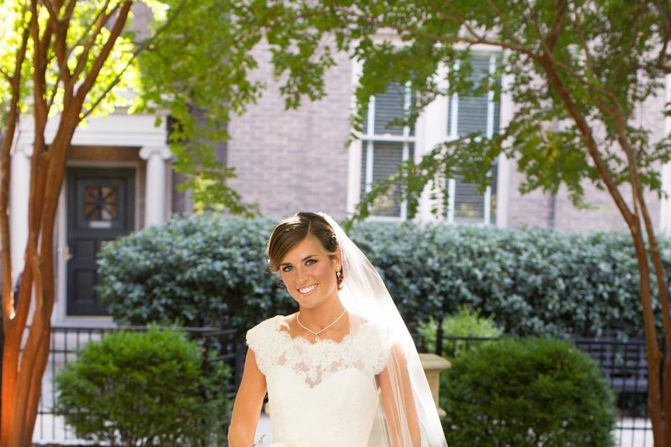 We did full bridal alterations and custom design for our sweet bride Bridgette! Photography by Meghan McSweeney