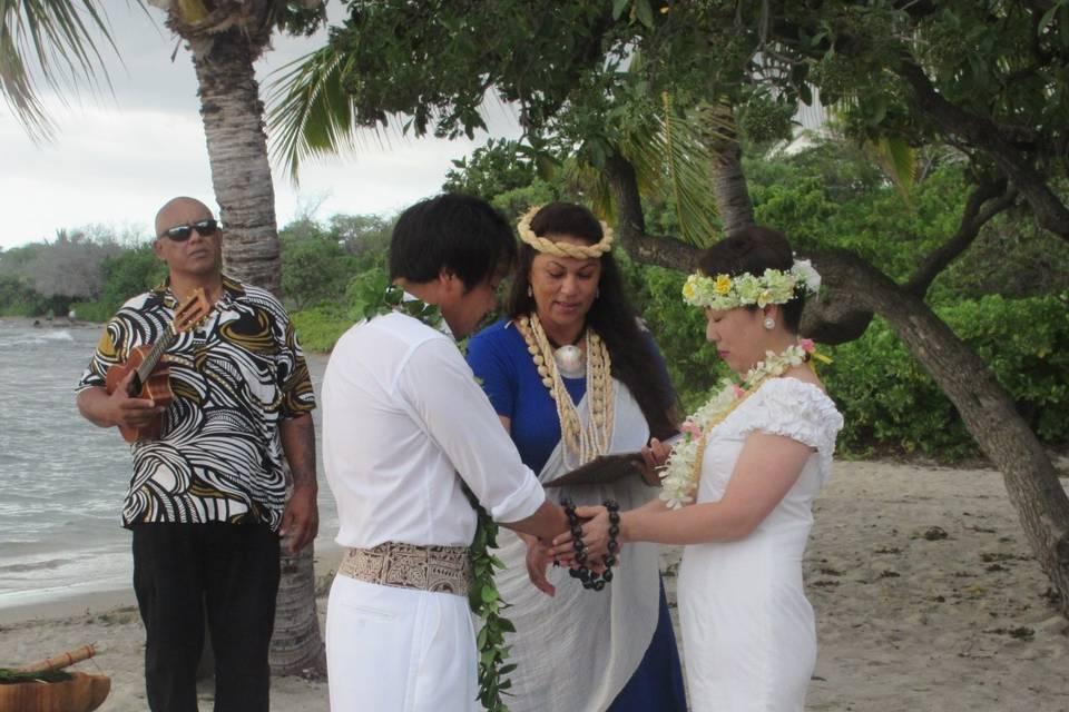 Kona Wedding