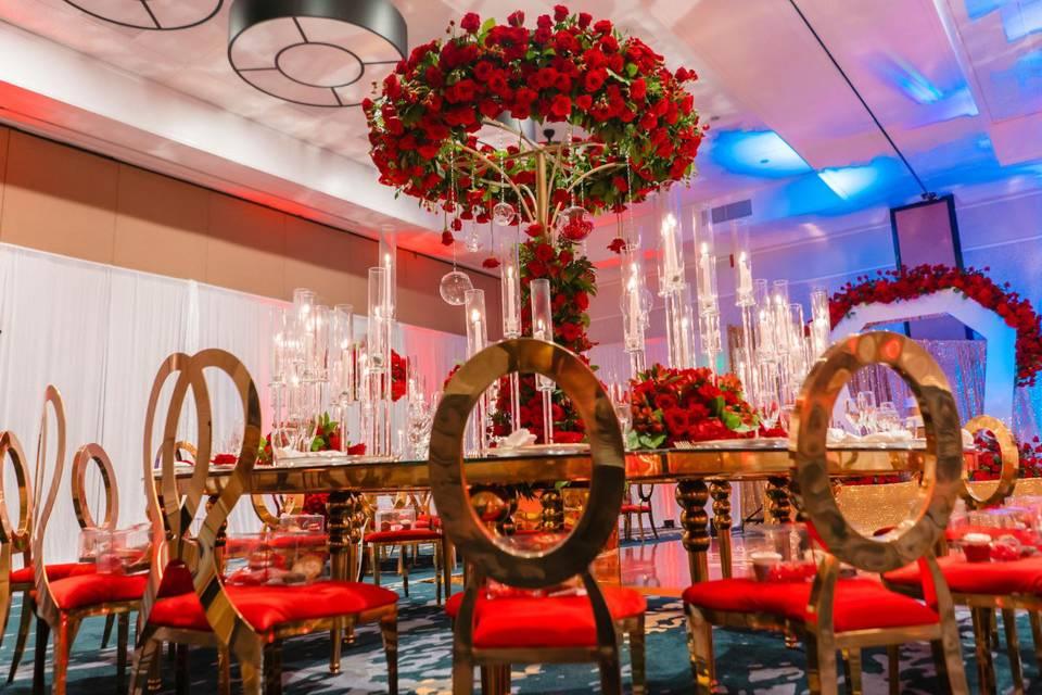Beautiful Red Wedding