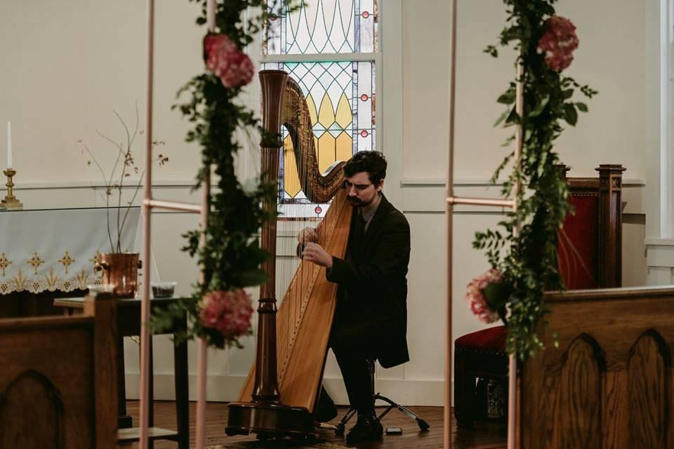 Ceremony song - Stephan Haluska Harp