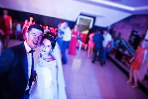 Couples on dance floor