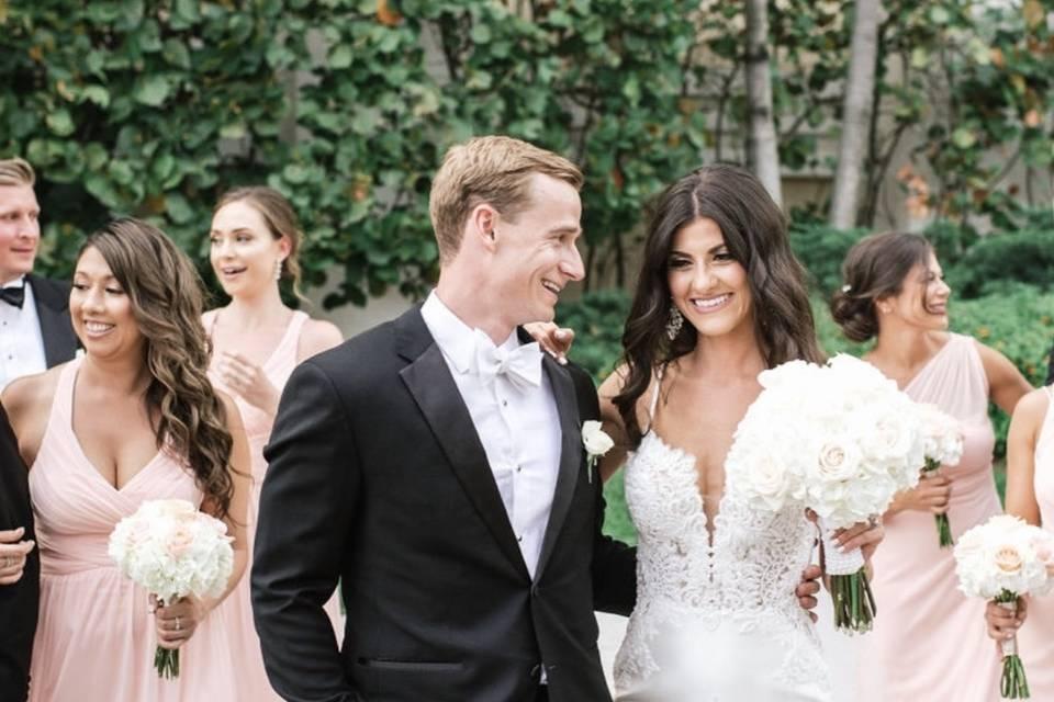 Bridal part flowers