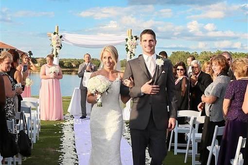 Congratulations, Newlyweds!