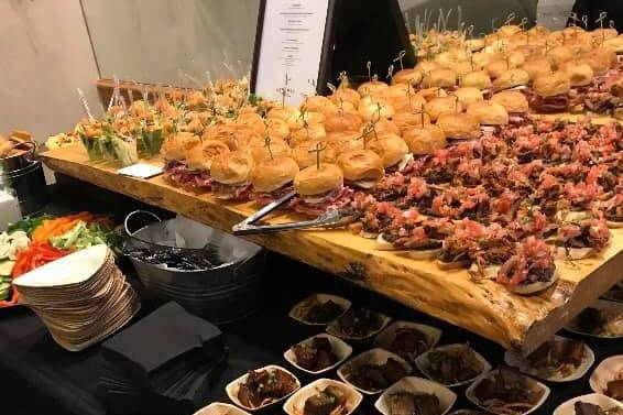 Delectable hors d'oeuvres
