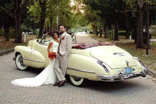 1947 Cadillac Convertible 3-4 passenger with driver