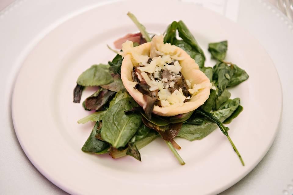 Mushroom Torte Salad