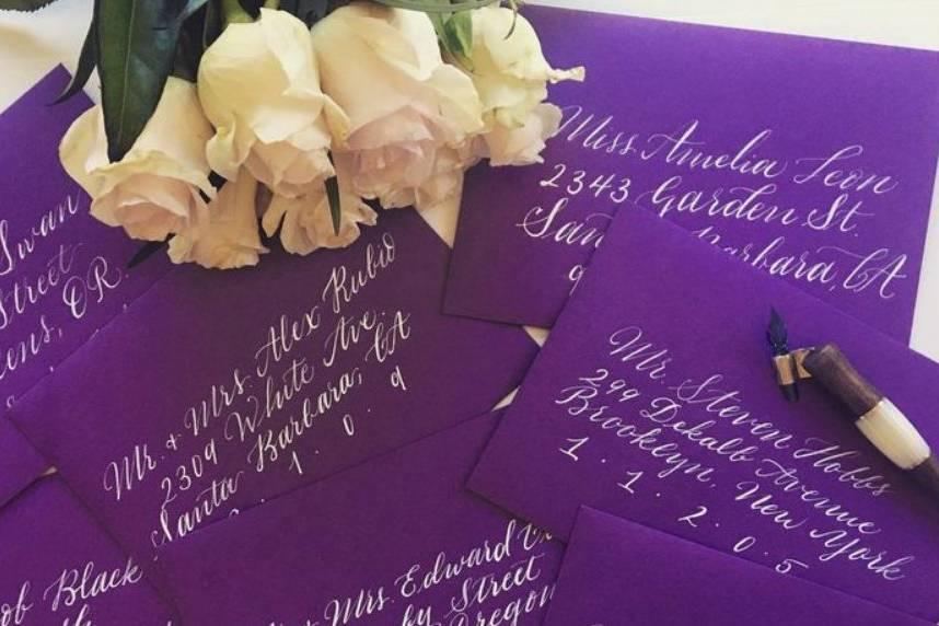 Bella Mia Cards & Calligraphy