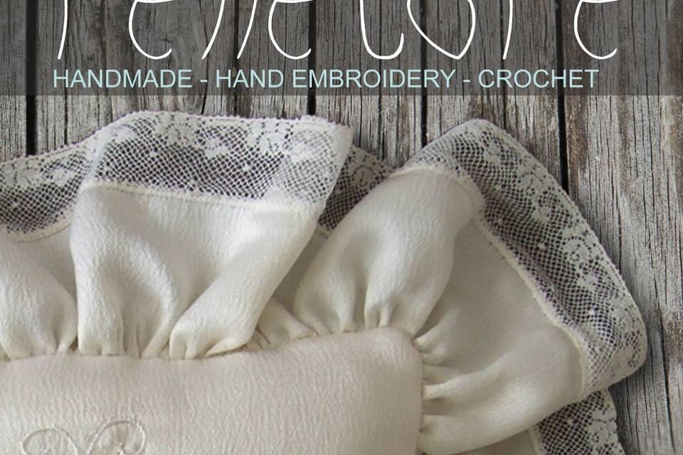Ring Pillows Penelope Handmade