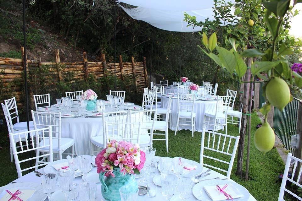 Wedding - lemon garden