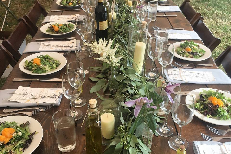 Tablescape East End Events Cat