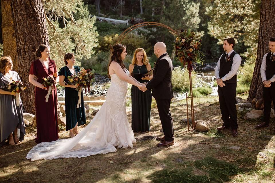 Dancing Pines, CA wedding