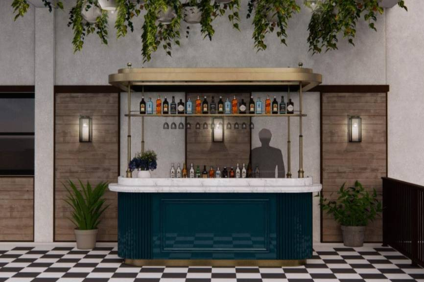 Exterior Terrace Bar