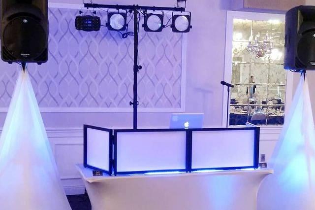 Basic wedding setup
