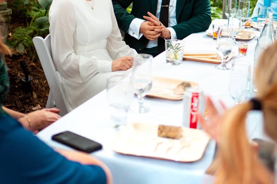 Lindsey poyar photography - Wedding banquet