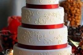Five layered cake