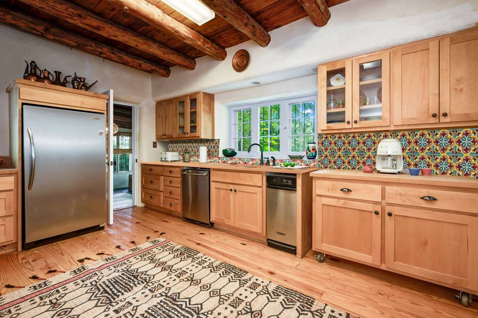 Our large kitchen