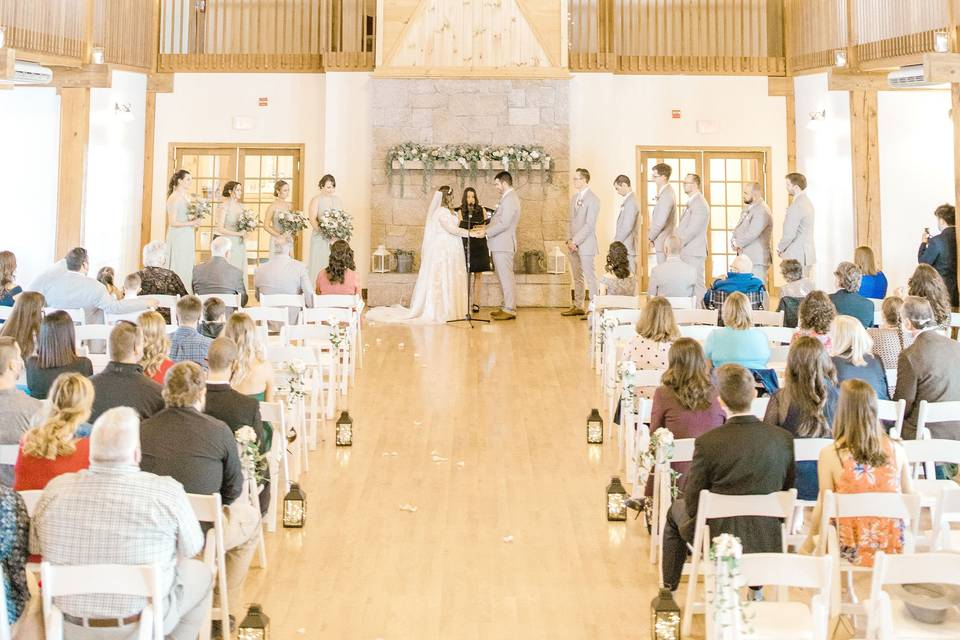 Morgan Hill wedding in Hermon