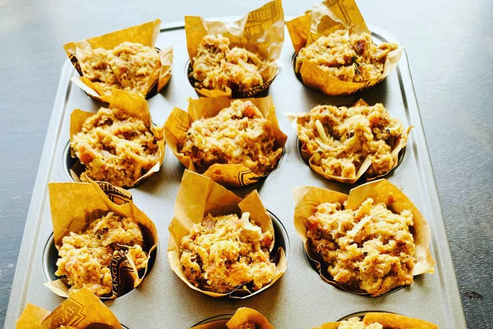 Stylechefs Stuffing muffins