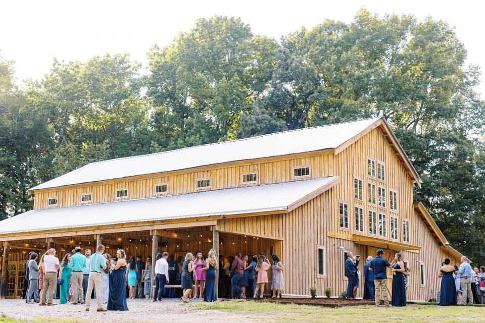 Back of barn and Overlook
