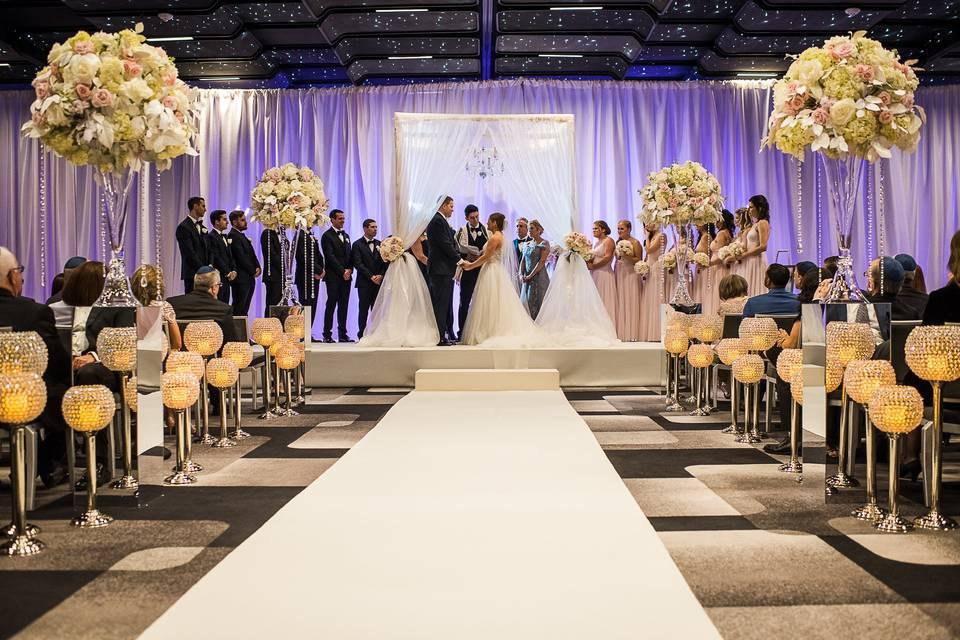 Ceremony in Moretti Ballroom