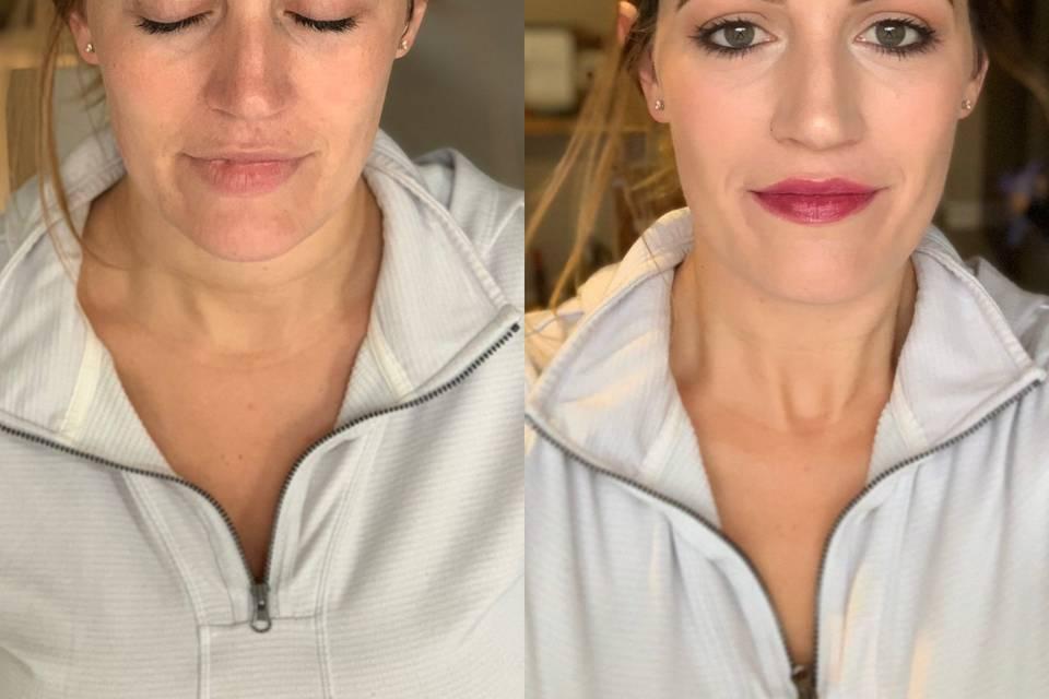Simply clean makeup